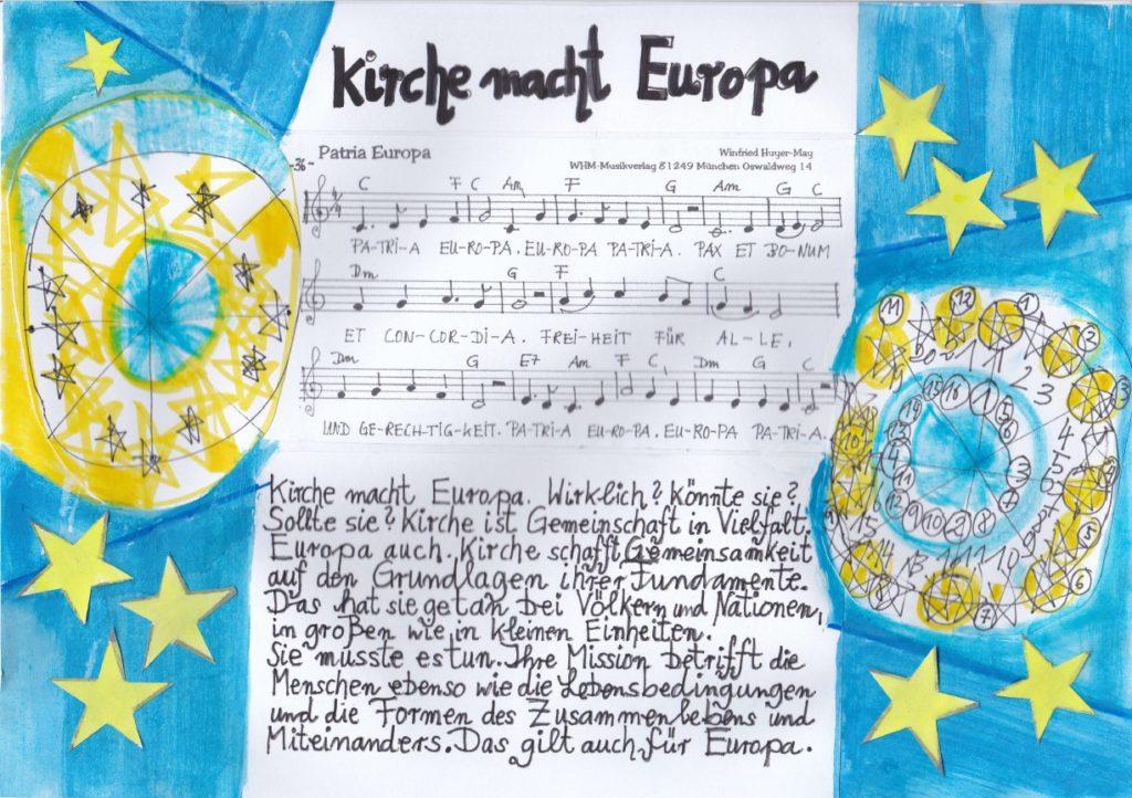 Deckblatt Kirche macht Europa